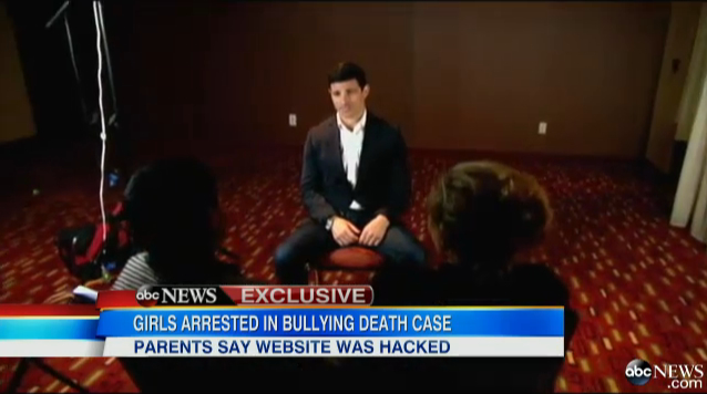 Parents of Alleged Cyberbully Blame Facebook Hack via Good Morning America