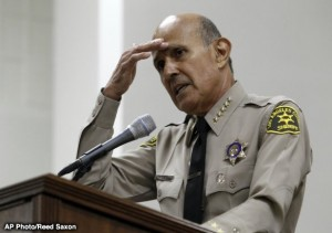 LEE BACA IS TIRED OF GETTING HASSLED