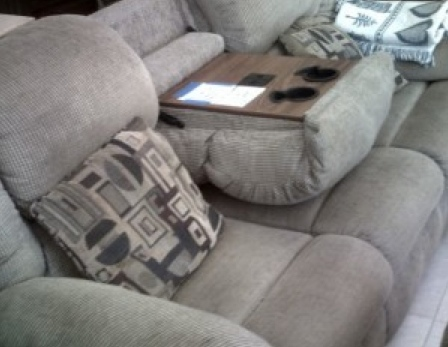 Recliner Diabetes Barge with Storage Arm_Where Excuses Go to Die