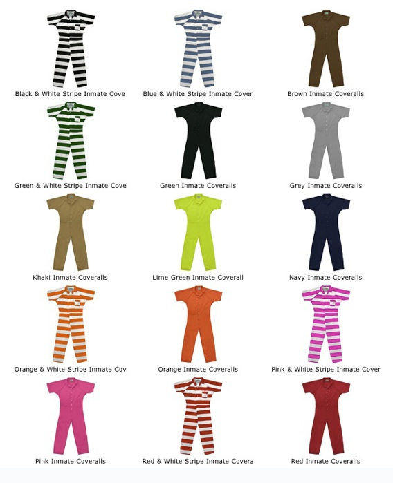 Prison Parade Day Costumes_Where Excuses Go to Die