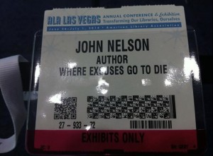 John Nelson_Author_Where Excuses Go to Die