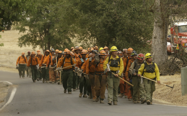 Inmate Firefighter Crew__Photo Credit AP
