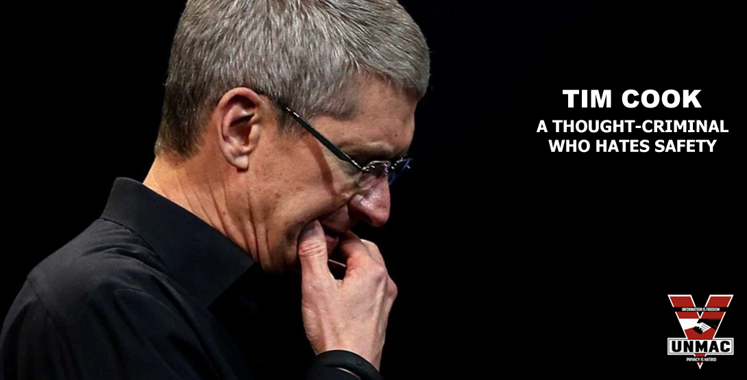 TIM COOK_UNMAC_WHERE EXCUSES GO TO DIE